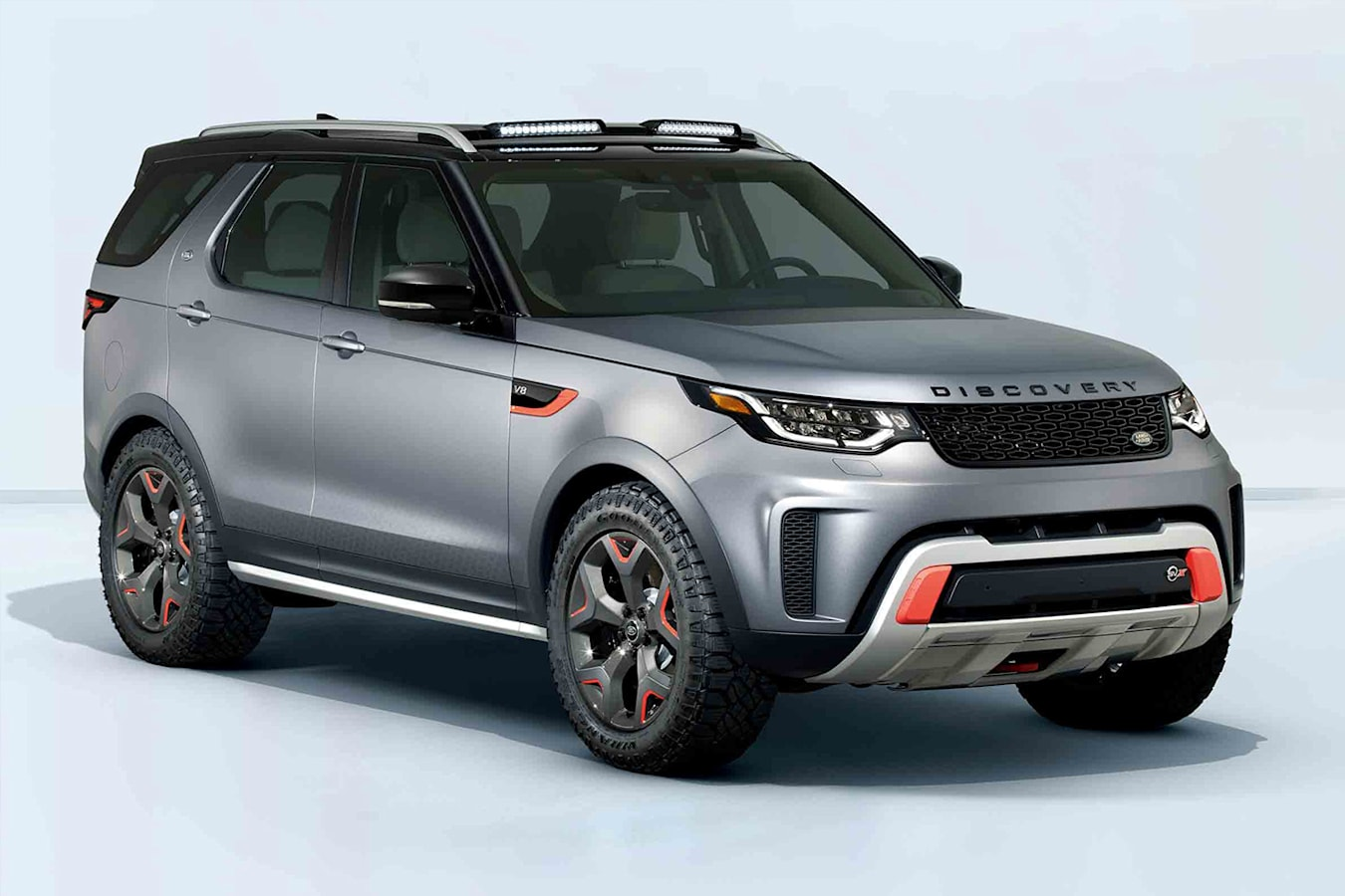 Land Rover Discovery Front Quarter Jpg