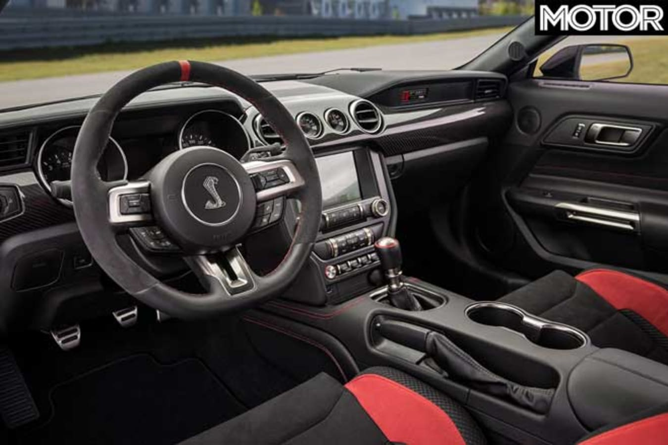 Updated Ford Mustang GT 350 R Interior Jpg