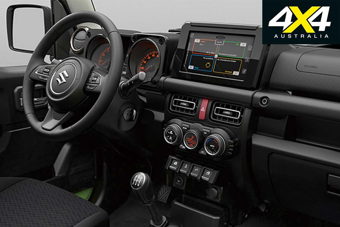 2019 Suzuki Jimny Interior Jpg