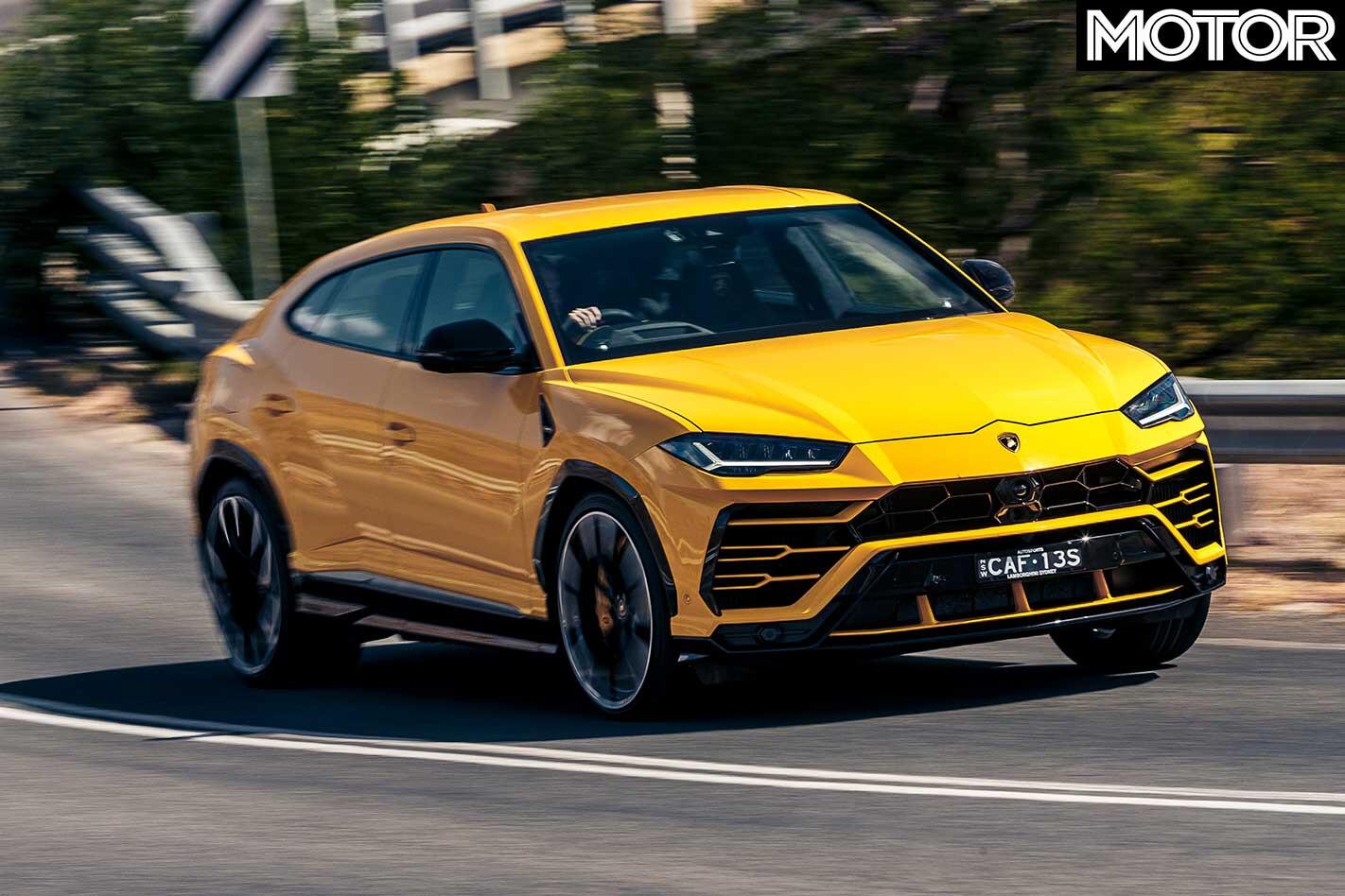 2019 Lamborghini Urus Cornering Jpg
