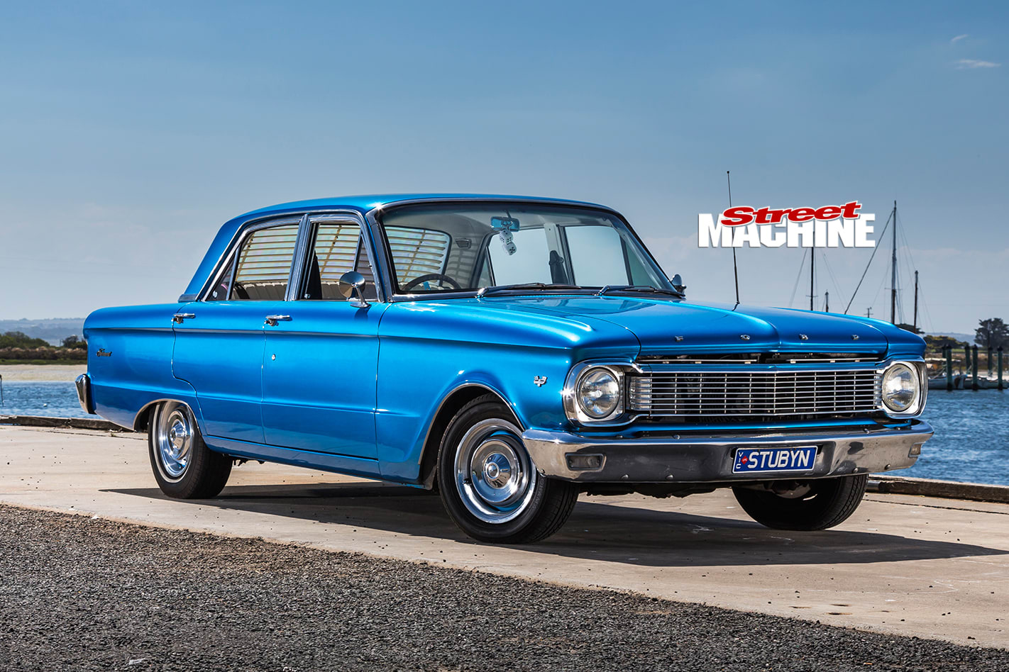 Ford -xp -falcon -front -angle