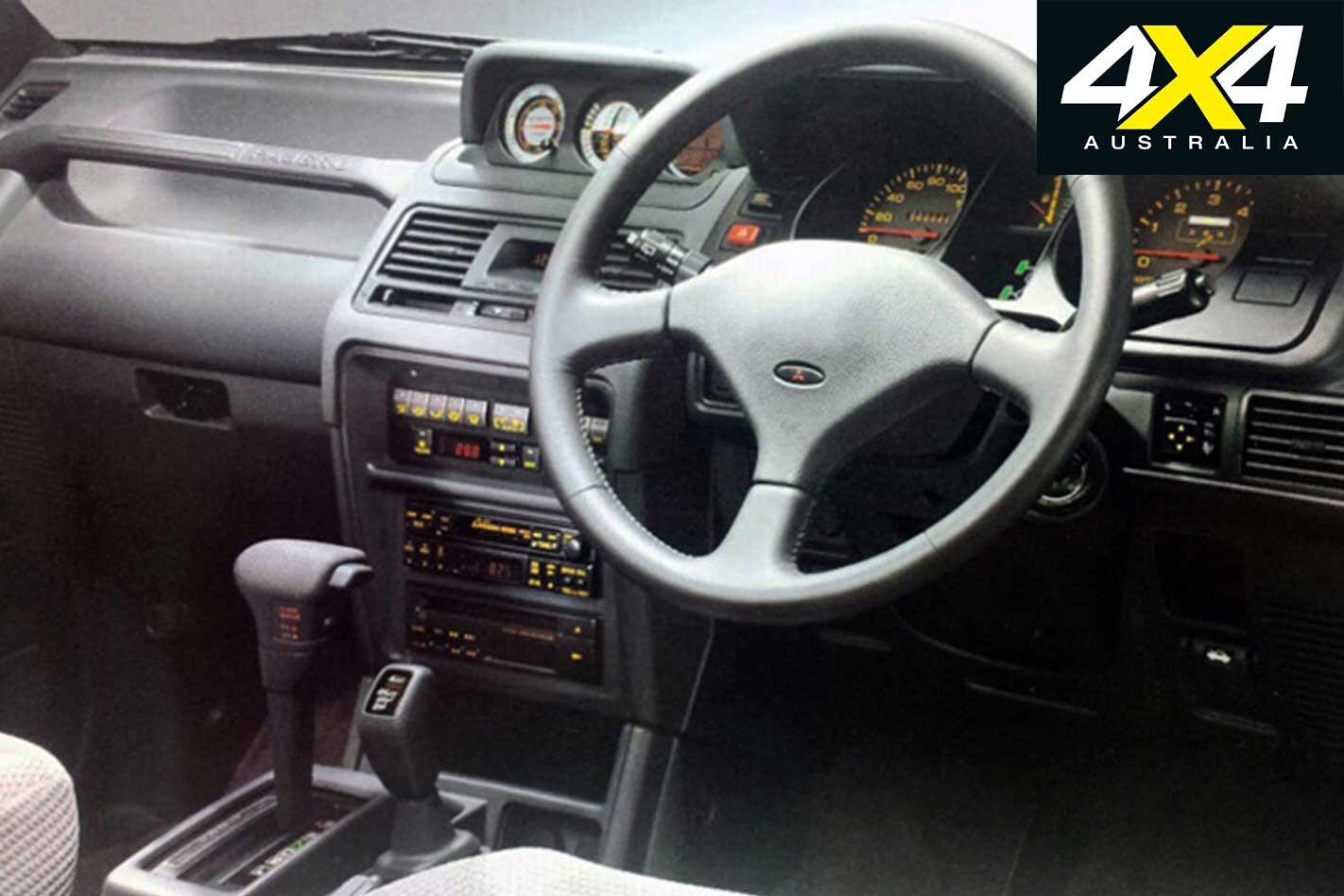 Mitsubishi Pajero Interior Jpg