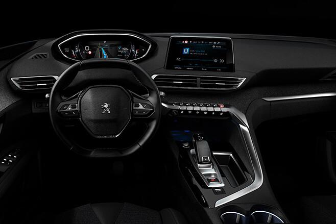 Peugeot iCockpit interior
