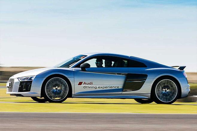 advanced driving course Audi R8