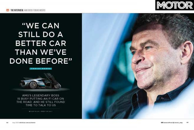 MOTOR Magazine May 2020 Issue AMG Jpg