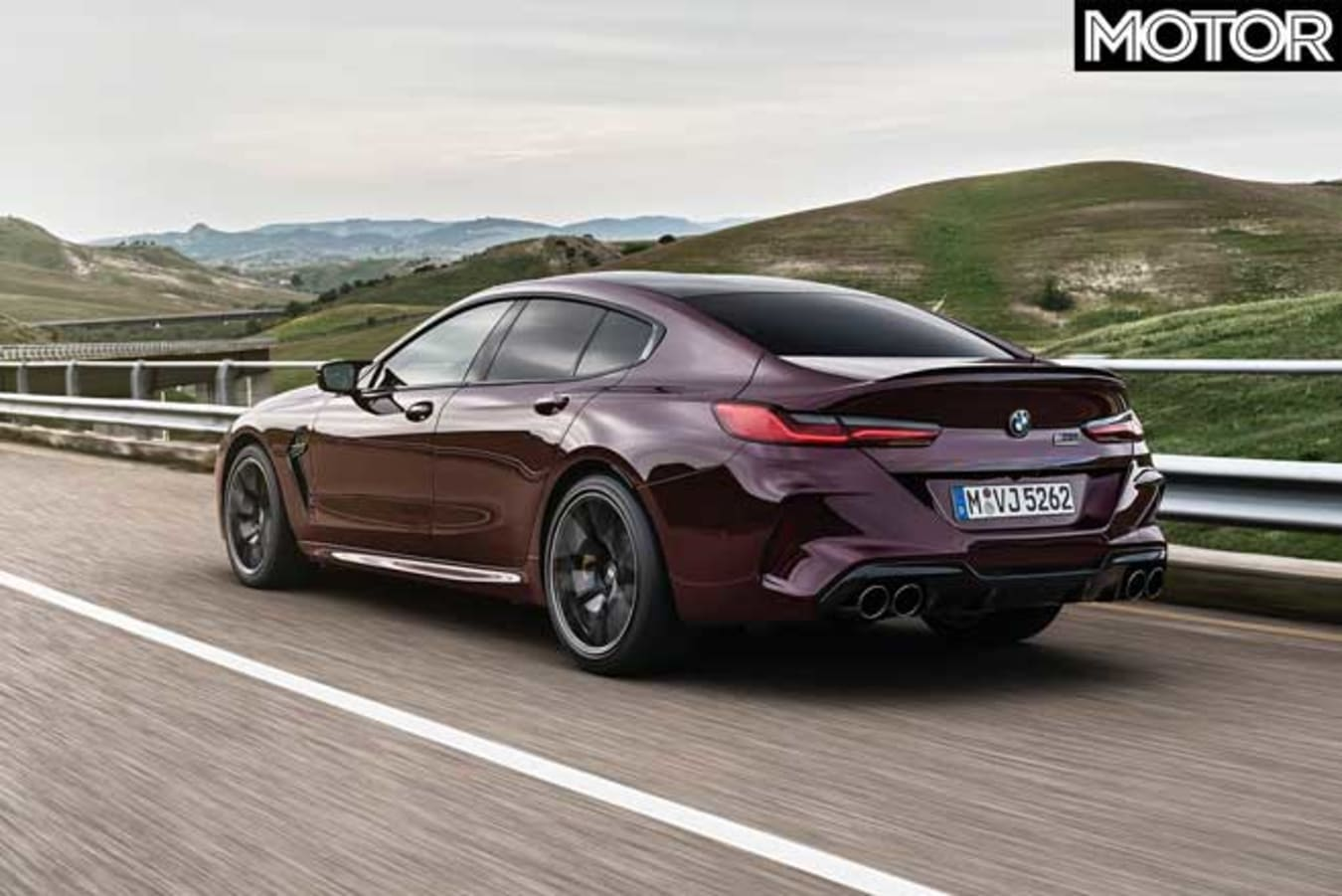 BMW M 8 Competition Gran Coupe Rear Jpg