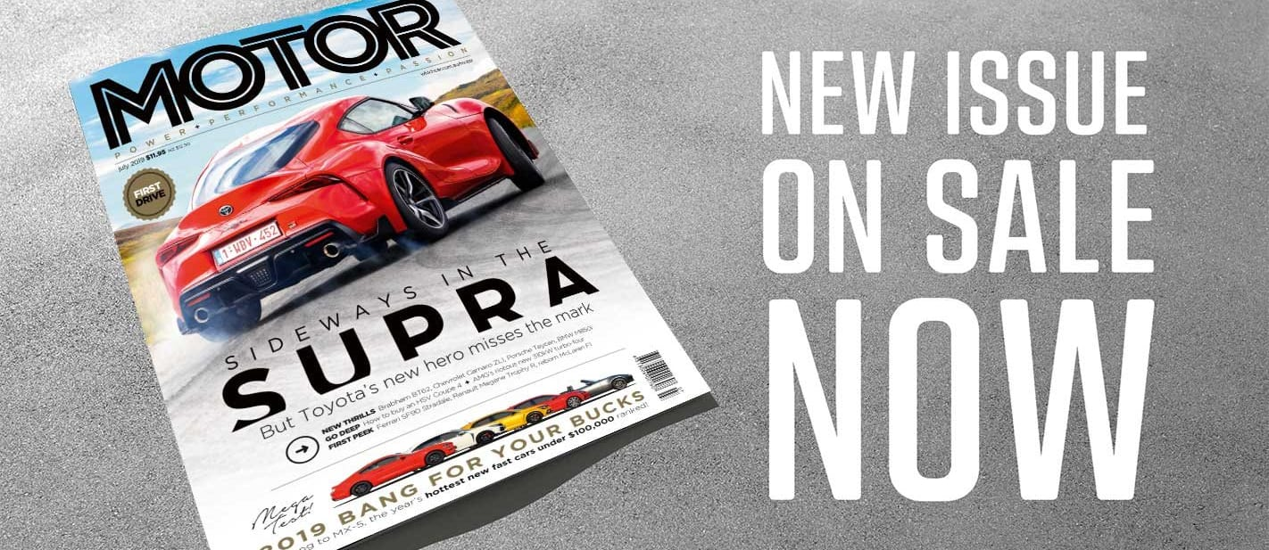 MOTOR Magazine July 2019 issue preview