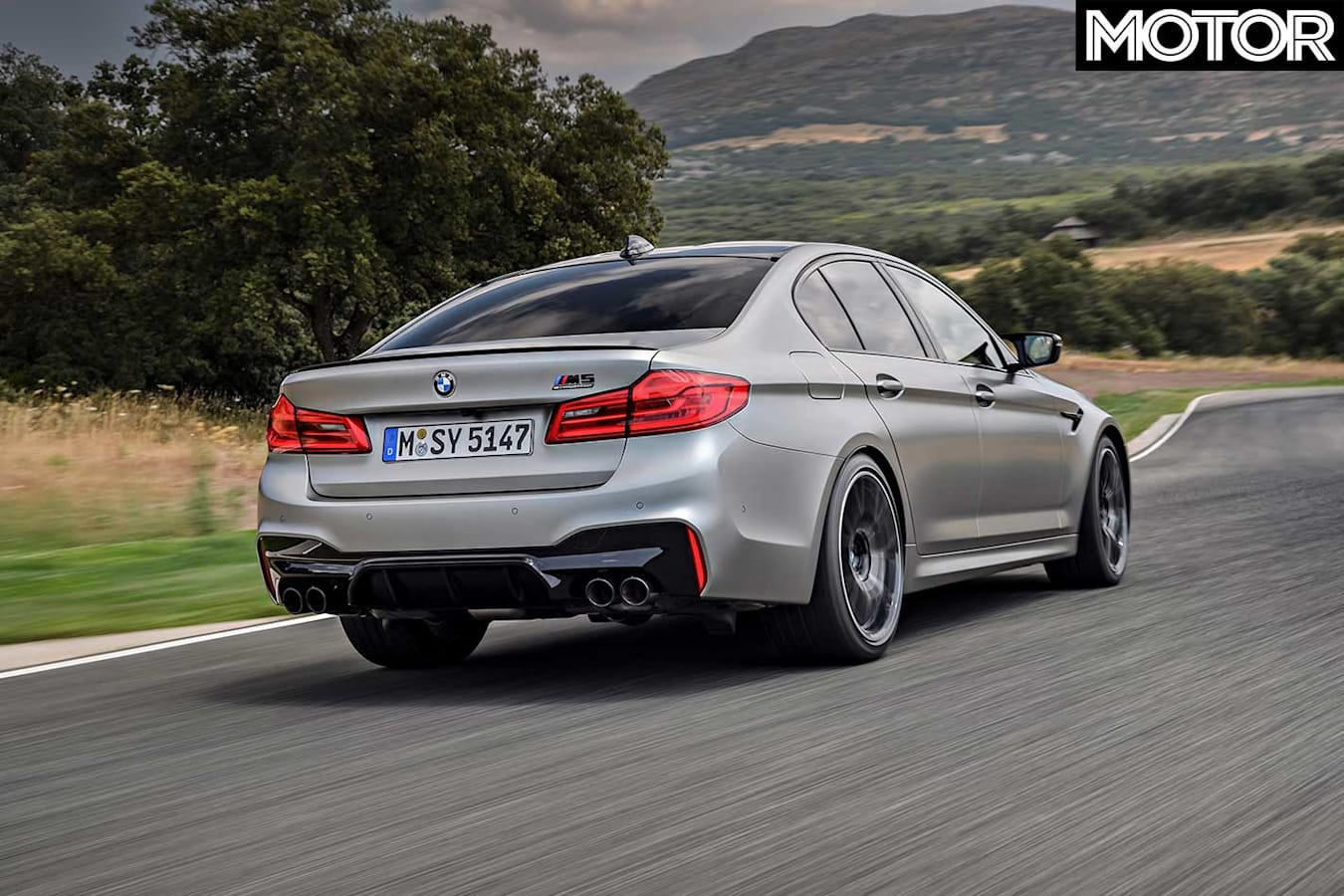 2018 BMW M 5 Competition Performance Review Rear Jpg