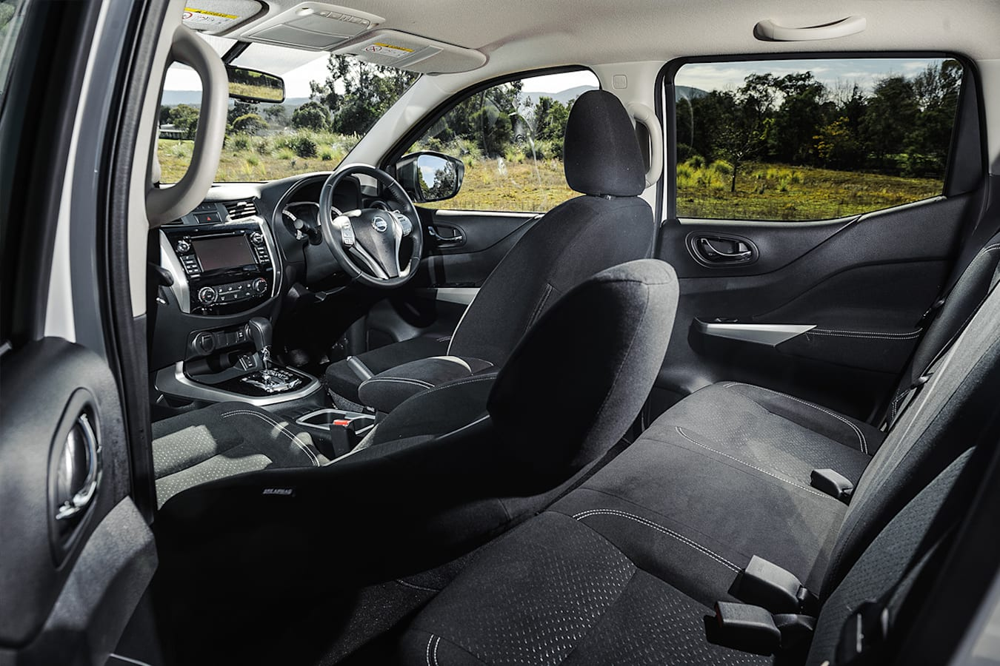 Nissan Navara Dual Cab Interior Jpg