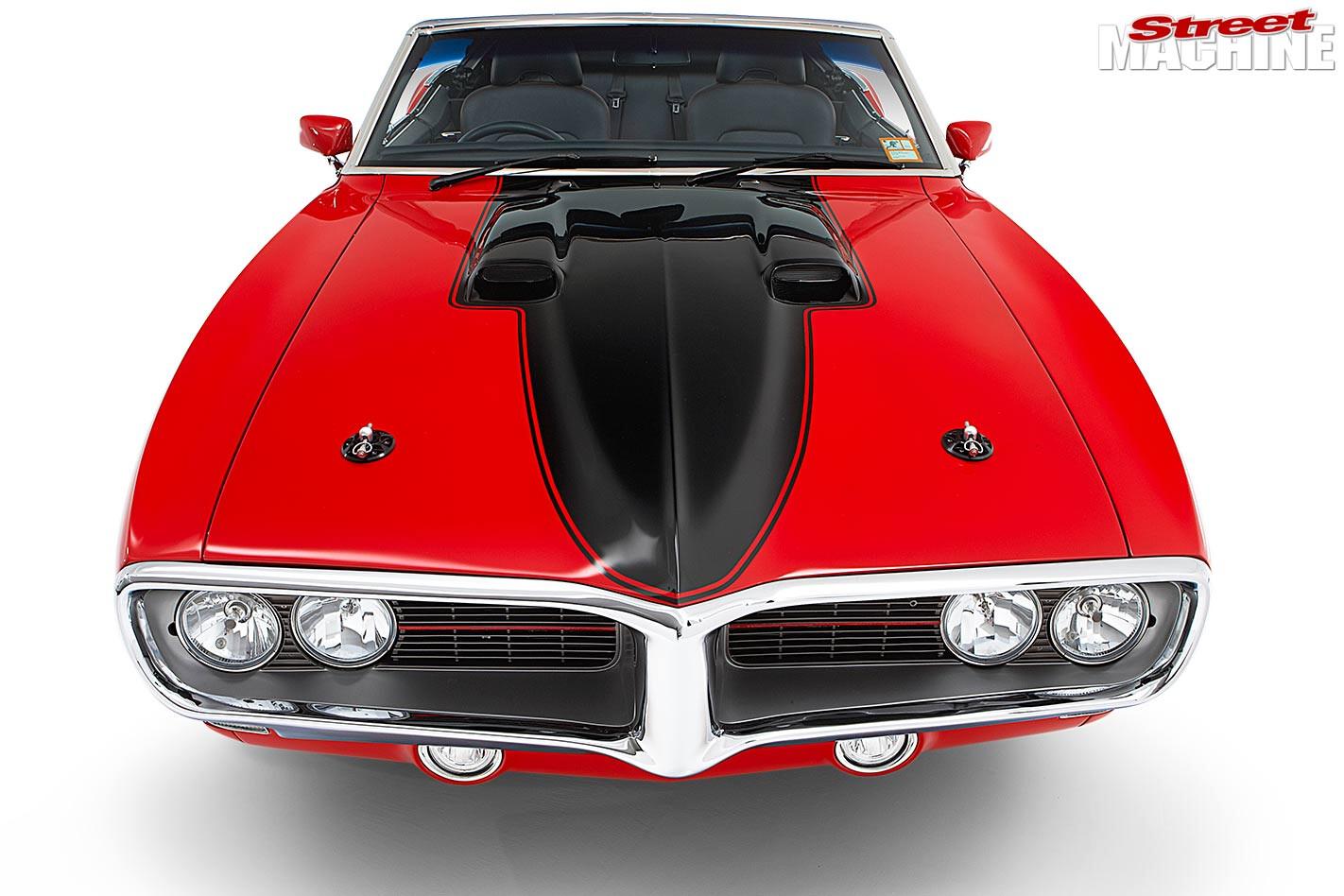 Pontiac Firebird convertible front