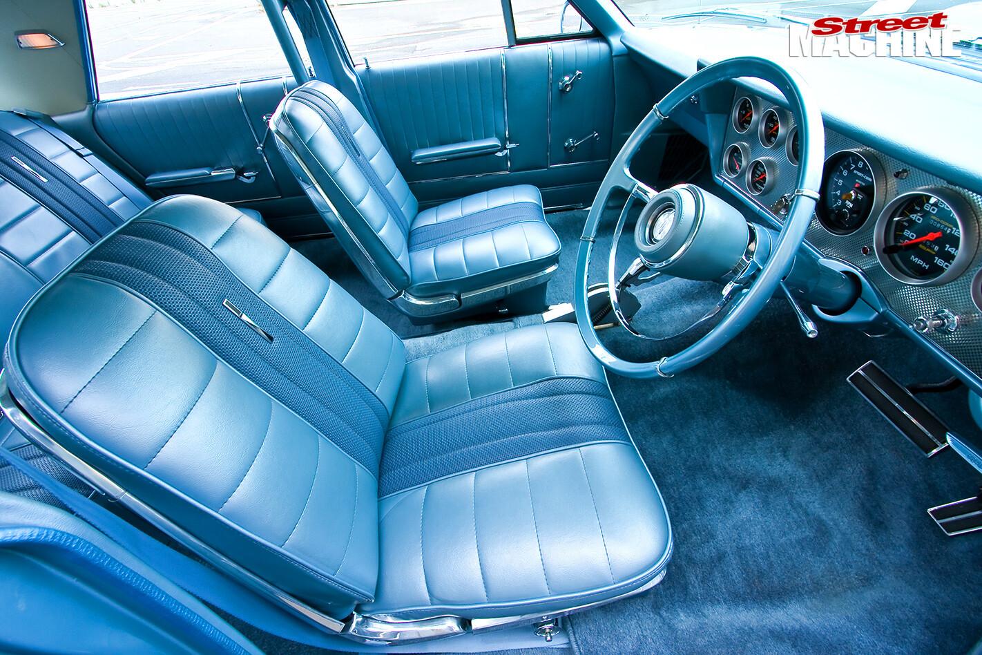 Ford -galaxie -interior