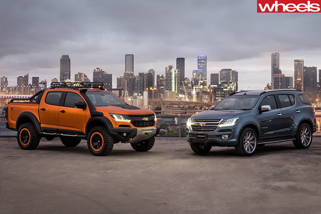 Chevrolet -Colorado -Xtreme -with -Trailblazer