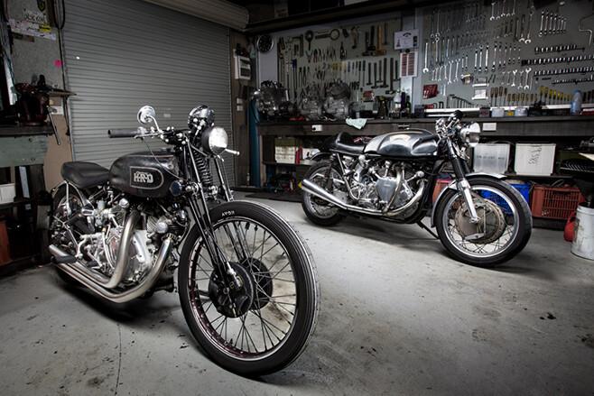 Ken's motorcycles