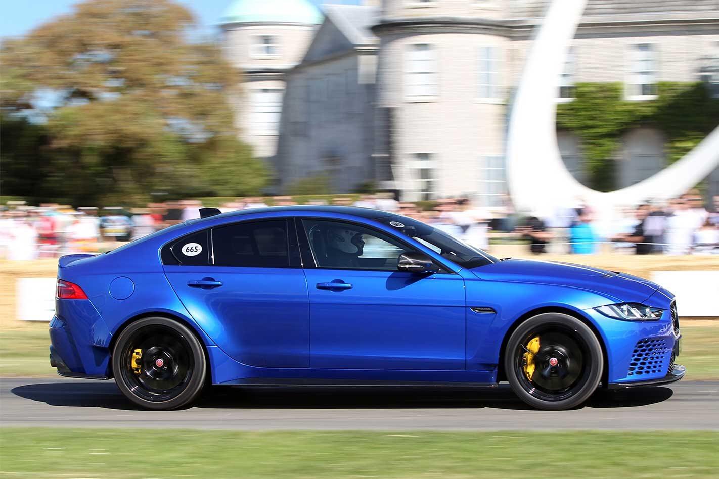 2019 Jaguar XE SV Project 8 Touring performance review