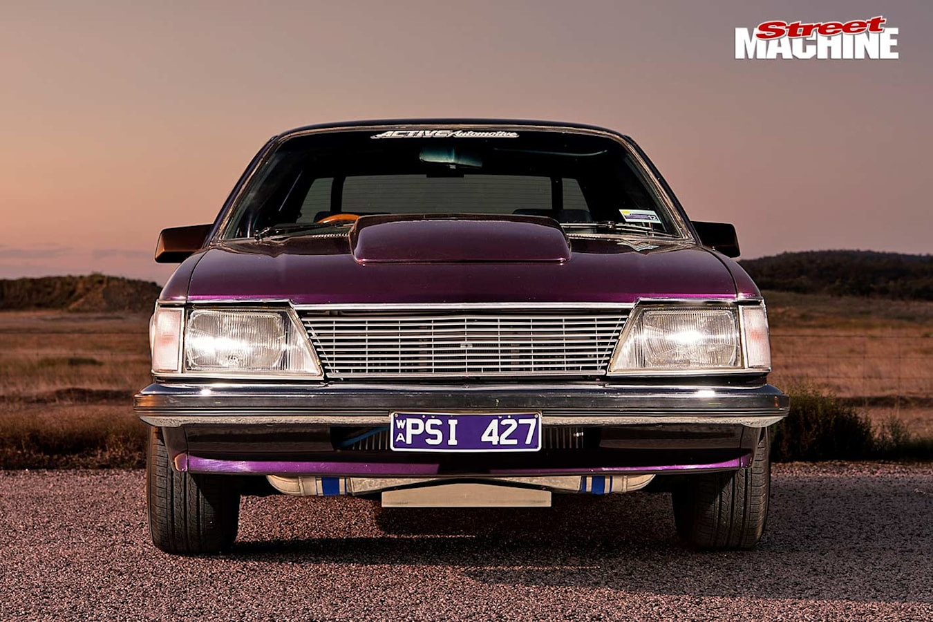 Holden Commodore front