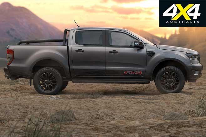 2020 Ford Ranger FX 4 Side Jpg