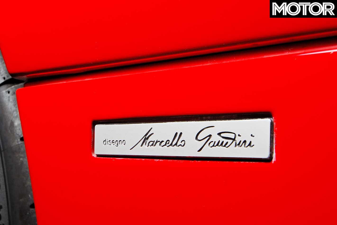1990 Lamborghini Diablo Gandini Plate Jpg