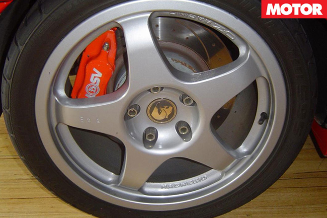 Holden Monaro HRT 427 wheel