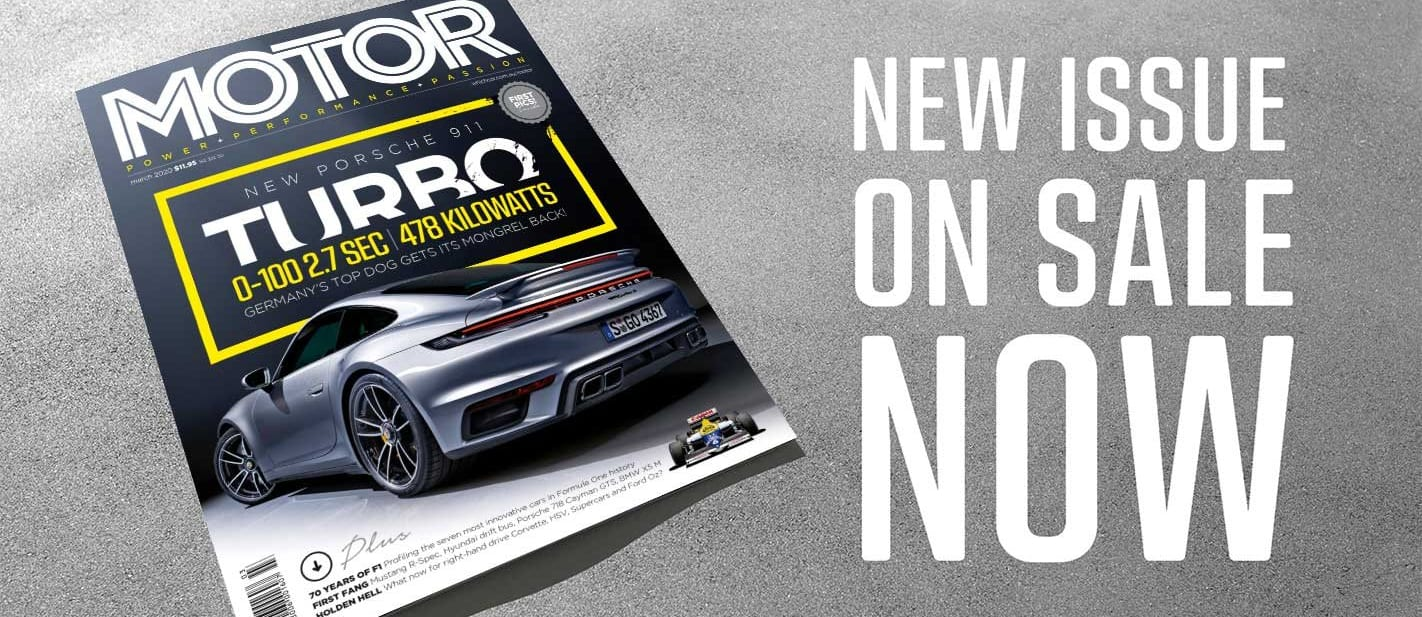 MOTOR Magazine March 2020 Issue Preview
