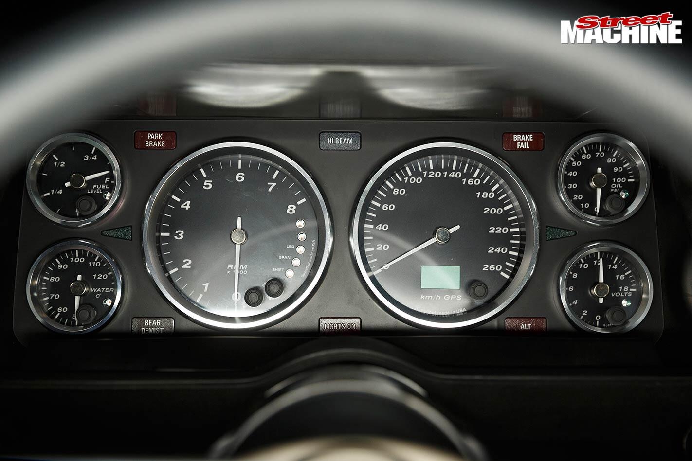 Ford XD Falcon dash