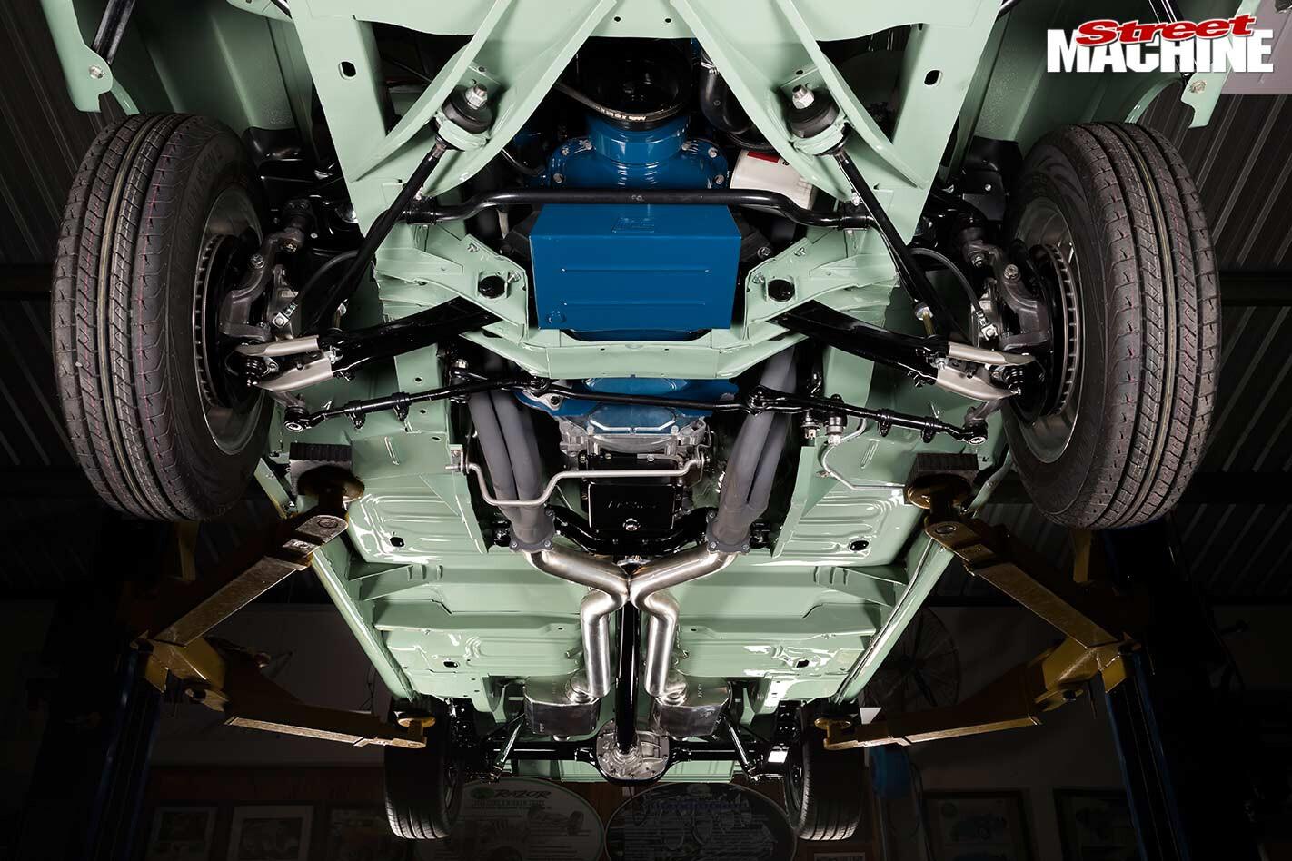 Ford Falcon XR ute underside