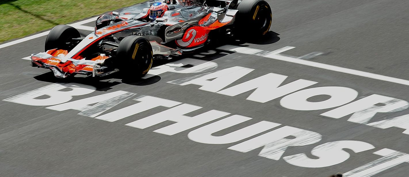 Jenson Button's unofficial Bathurst lap record in an F1 car is wild