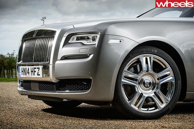 Rolls -Royce -Ghost -grille