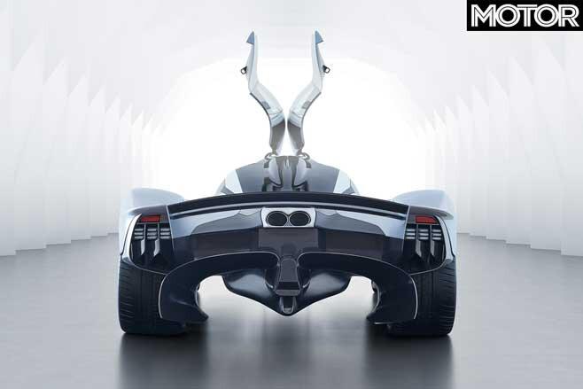 Aston Martin Valkyrie Rear Jpg