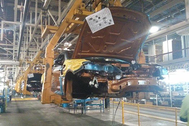 FPV GT-F 500 assembly line