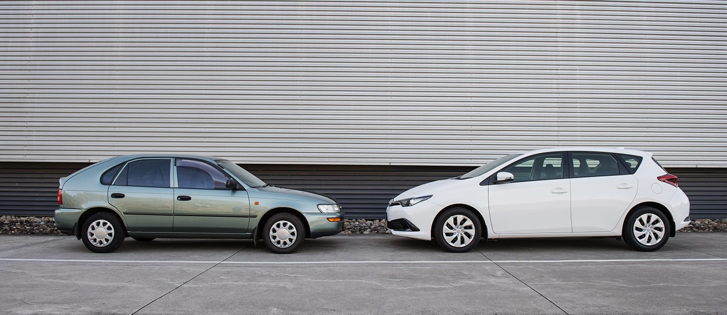 New versus old: Why you don't want to crash in a very second-hand car