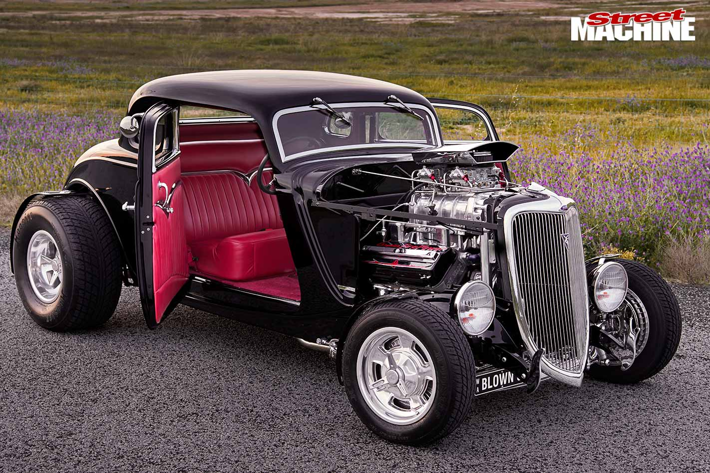 Ford five window hot rod