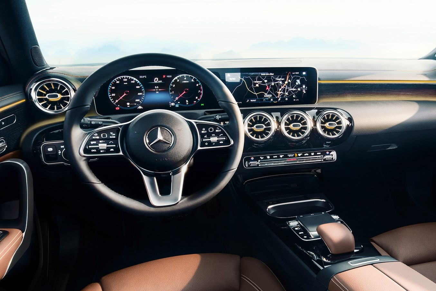 2018 Mercedes Benz A Class interior