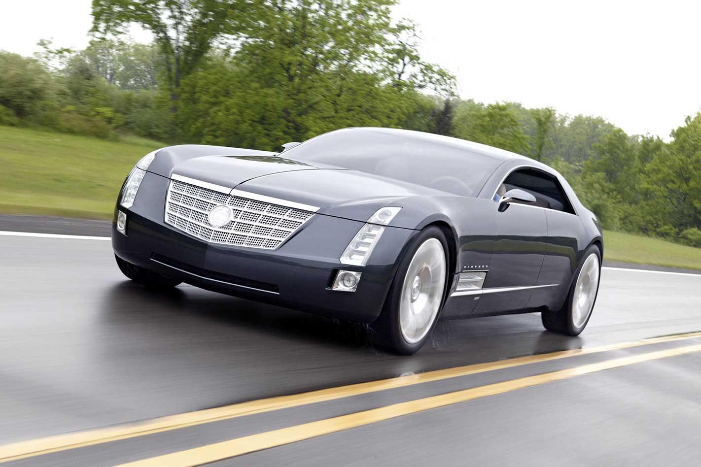 2003 Cadillac Sixteen concept car