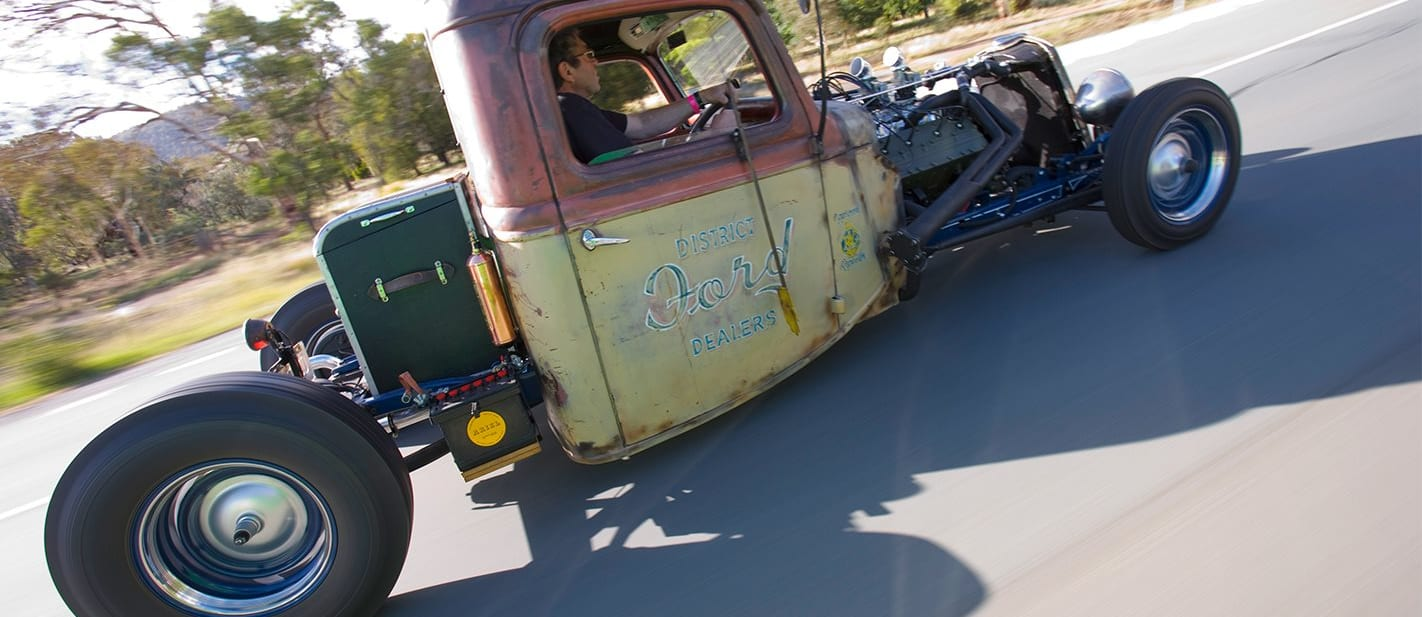 1935 ford truck onroad