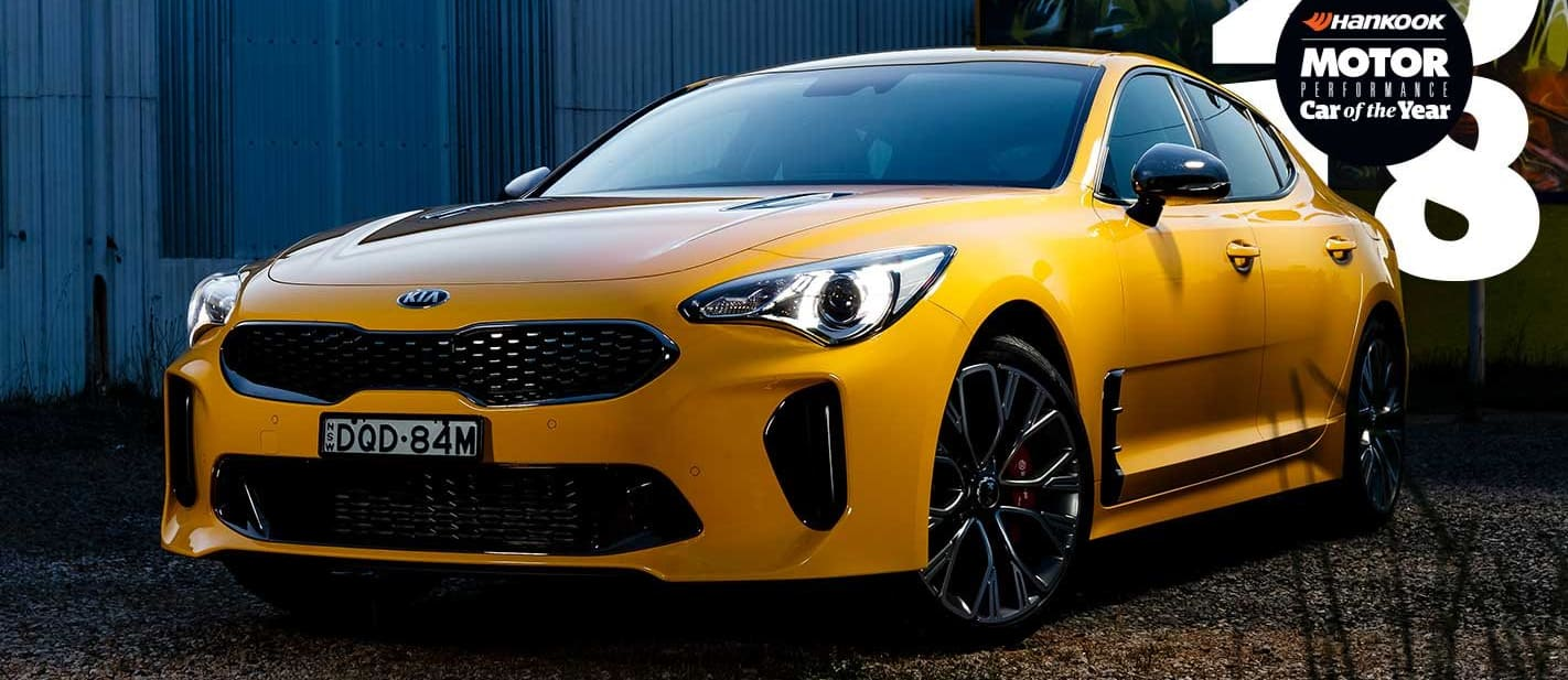 Performance Car of the Year 2018 Kia Stinger 330Si review