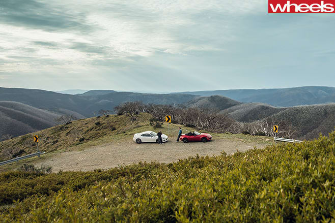 MX-5-and 86-top -mountain -top