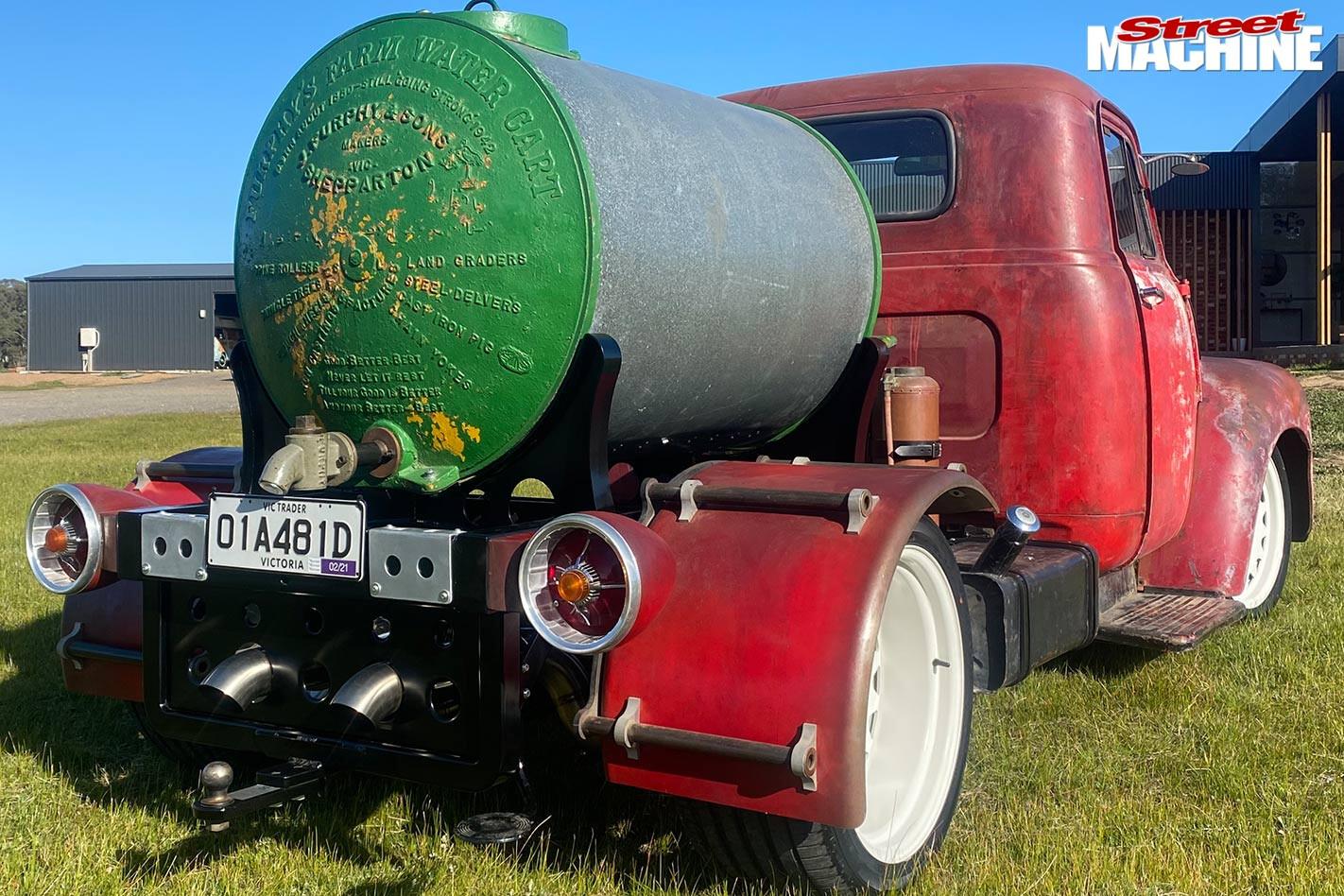 Bedford truck rear