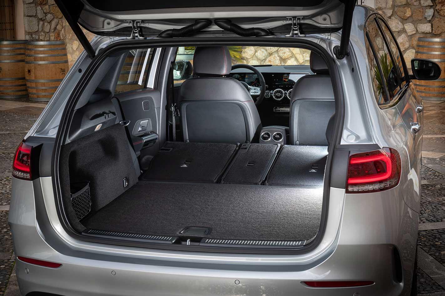 2019 Mercedes Benz B Class Luggage Space 281 29 Jpg