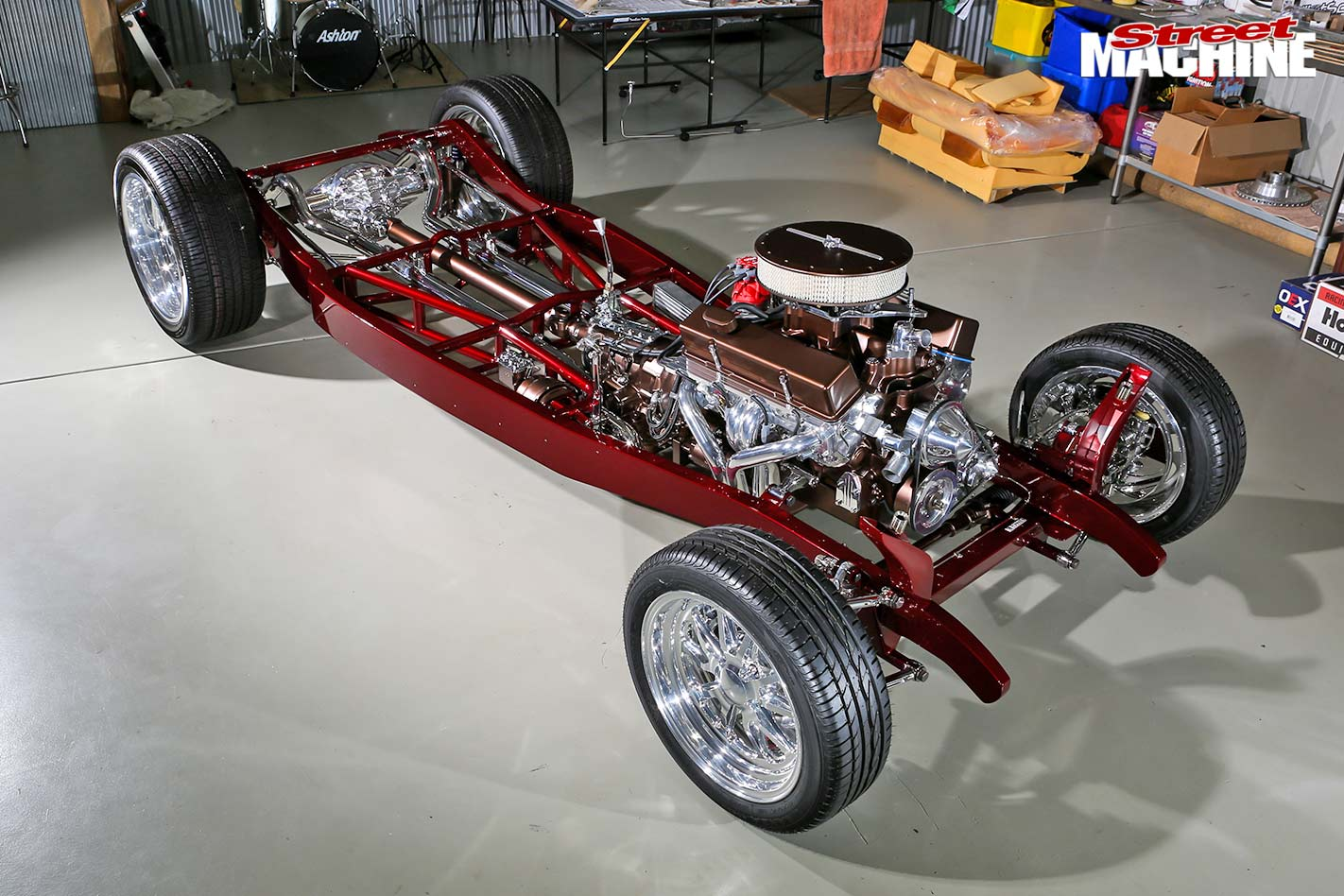 Ford Tudor chassis