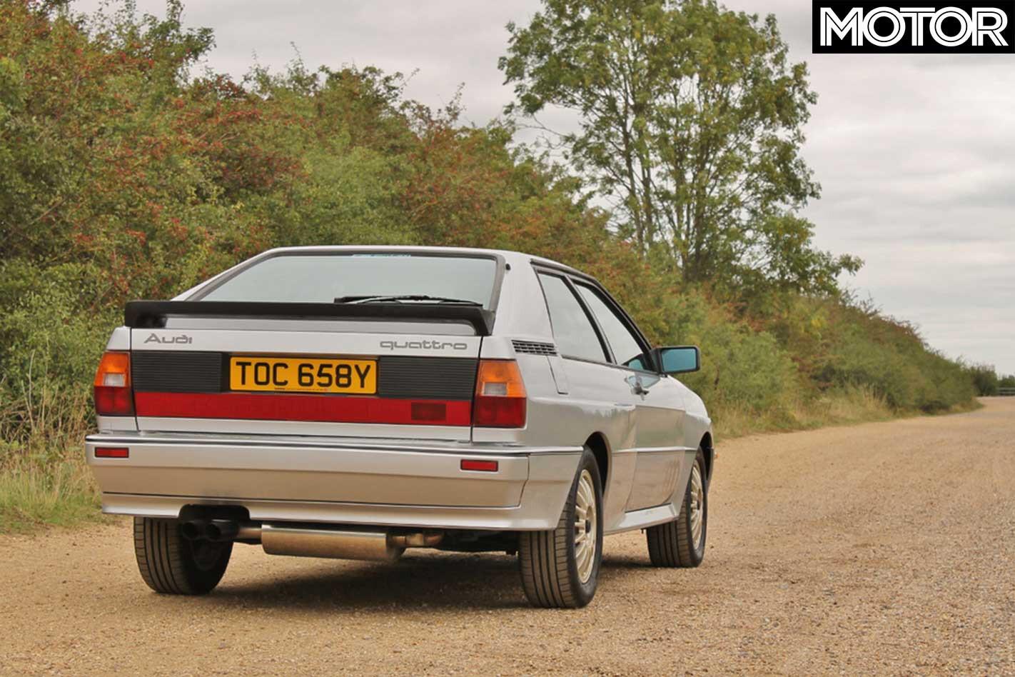 Pre Production RHD Audi Quattro Rear Jpg