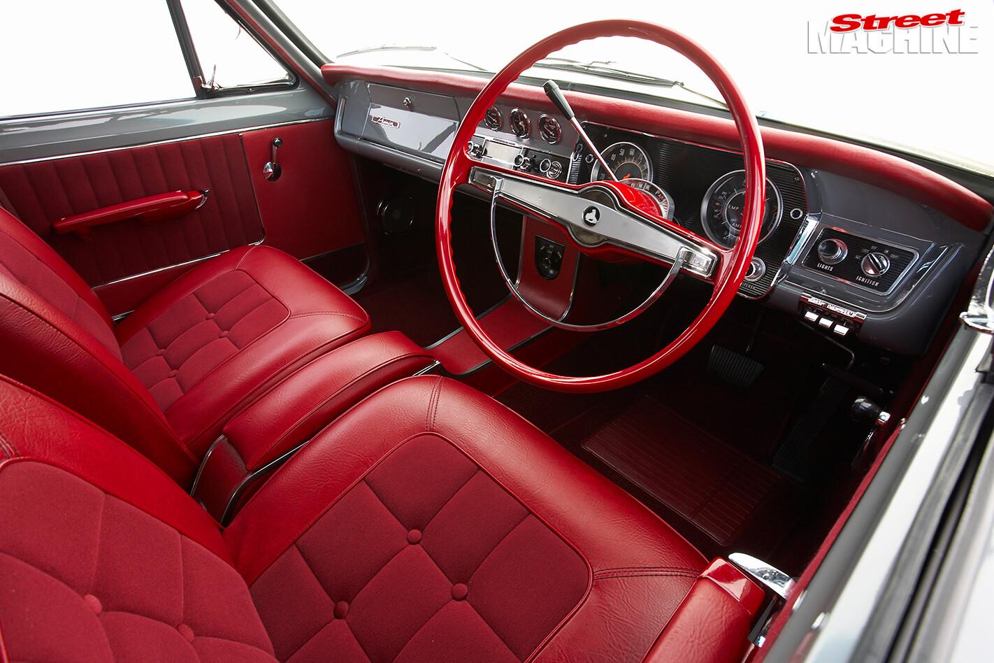 Holden -HD-van -interior -front