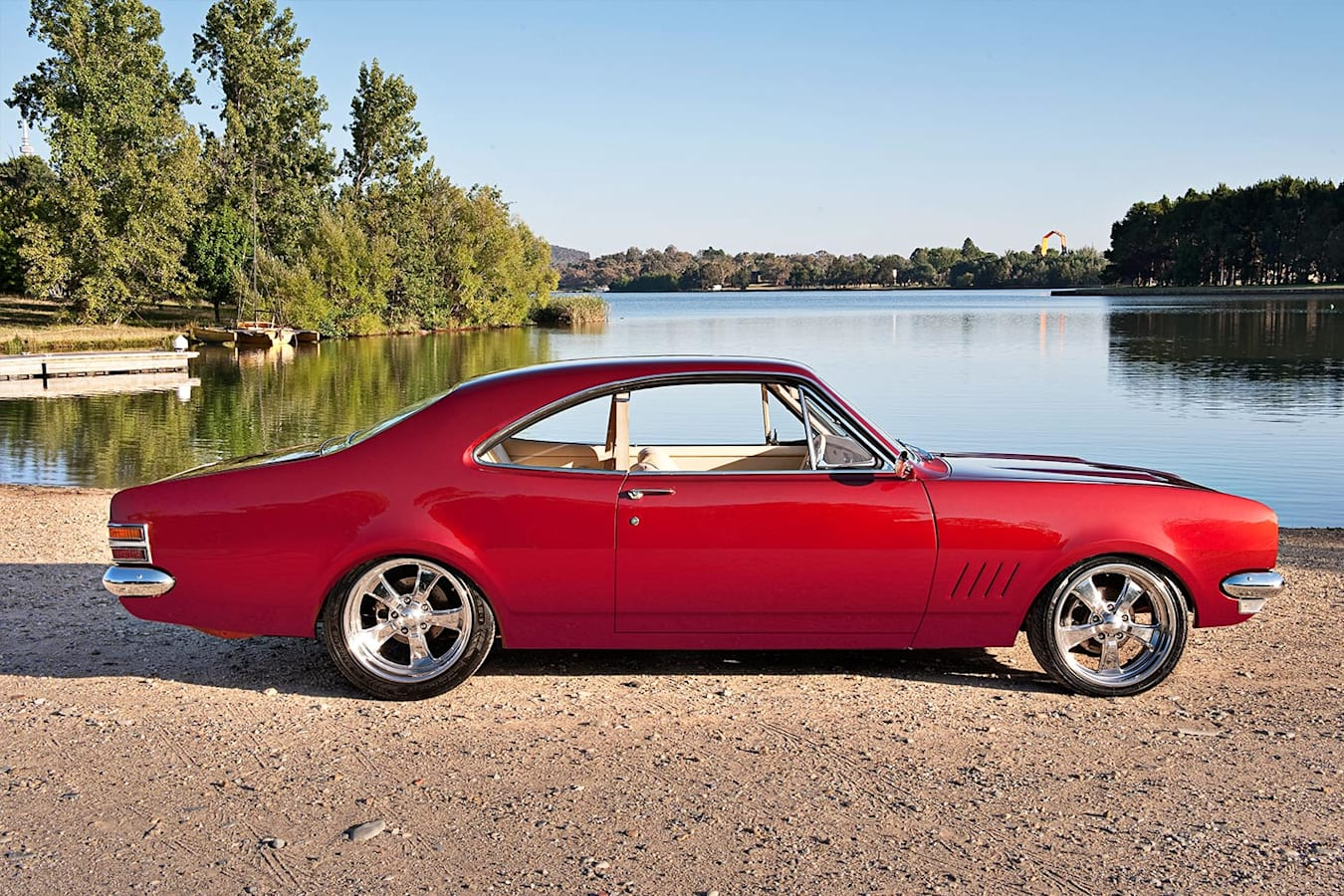 Holden HT Monaro profile
