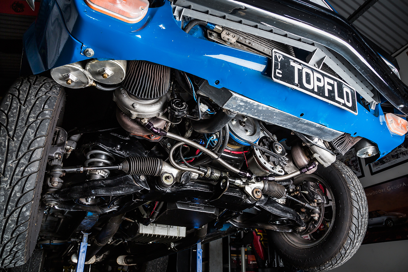 Holden -LH-Torana -underside