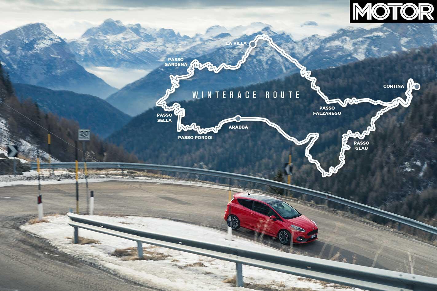 2019 Ford Fiesta ST Alpine Road Route Jpg