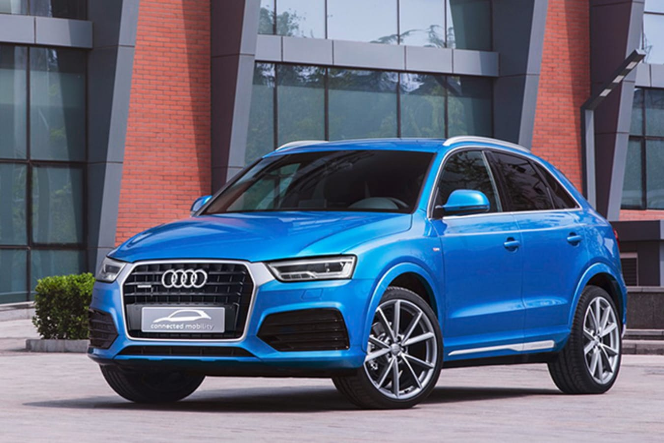 Audi Q3 connected mobility