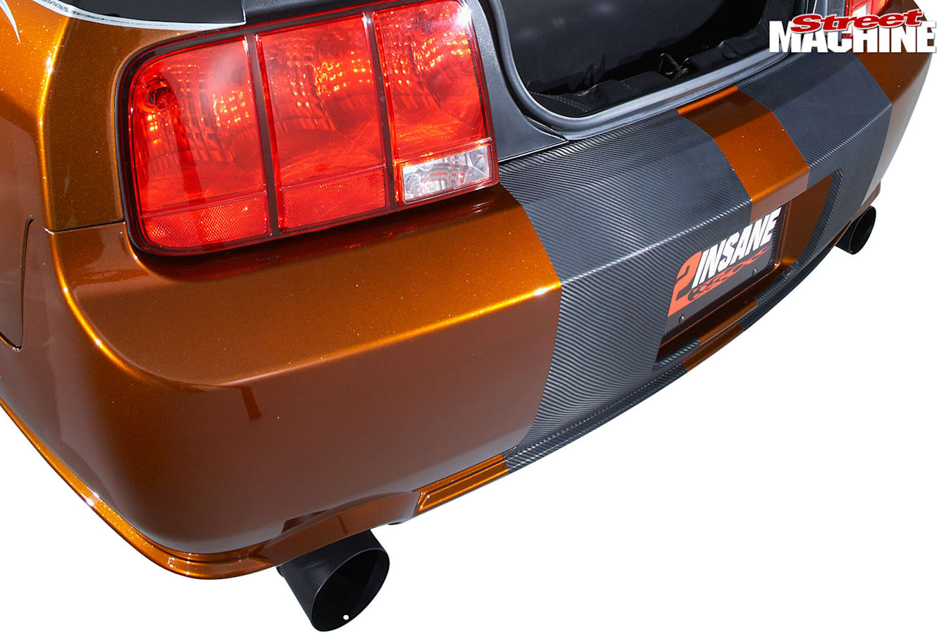 Ford Mustang exhasut