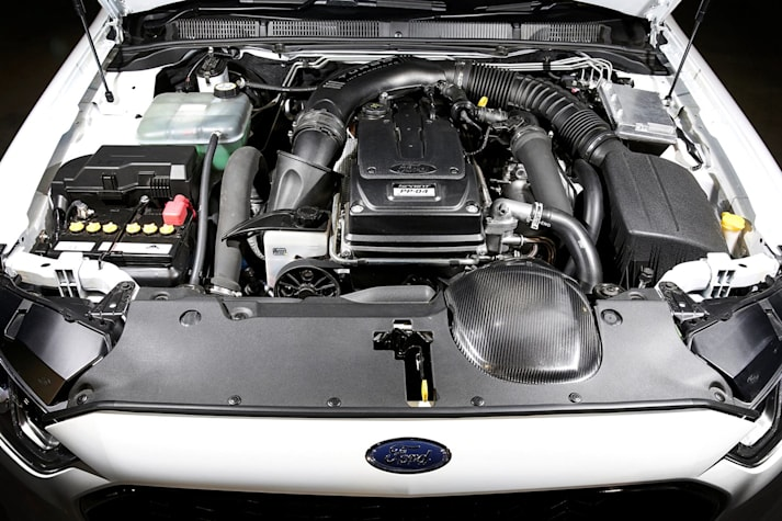 Ford Falcon Sprint 4 litre turbo engine