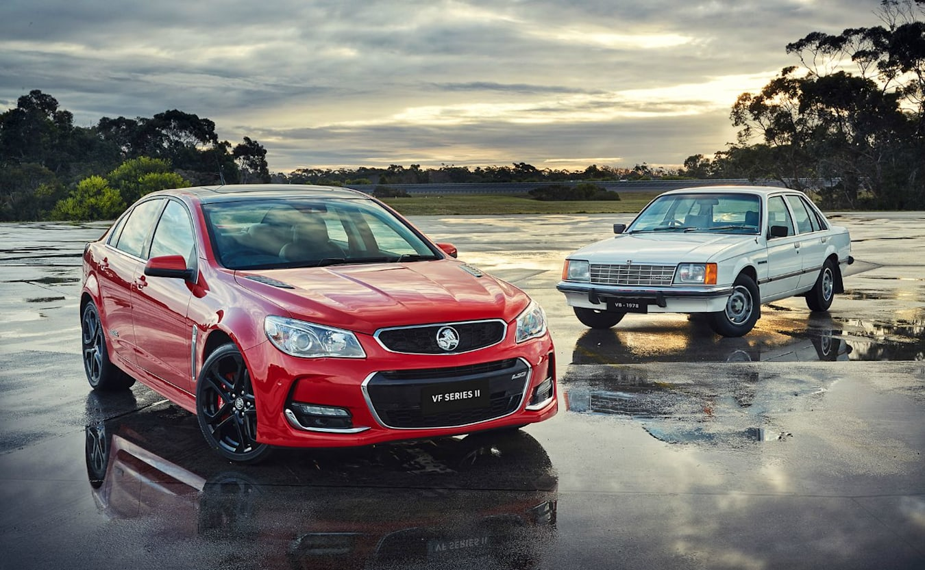 Holden VF II Commodore Old And New