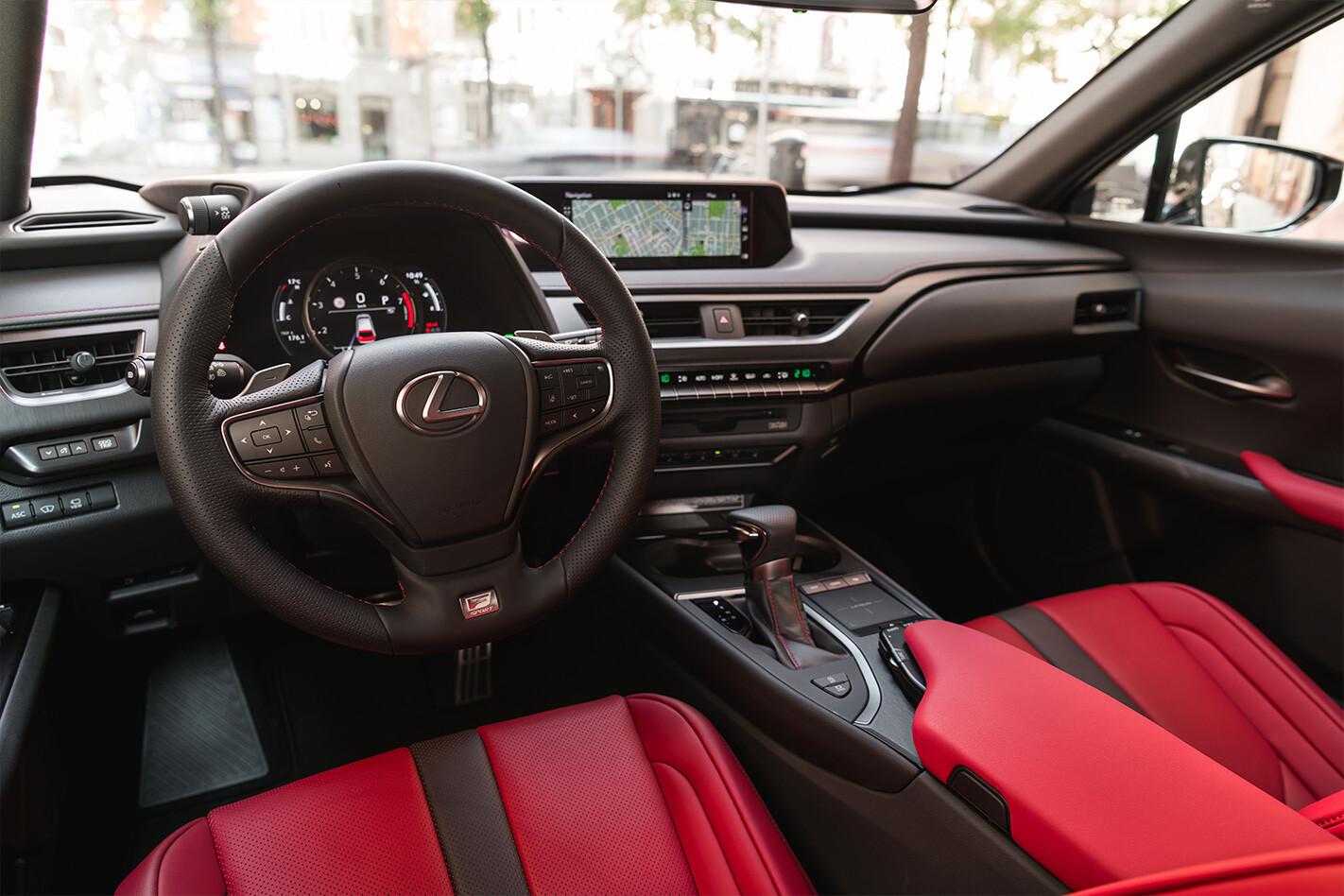 Lexus Ux Inside Jpg