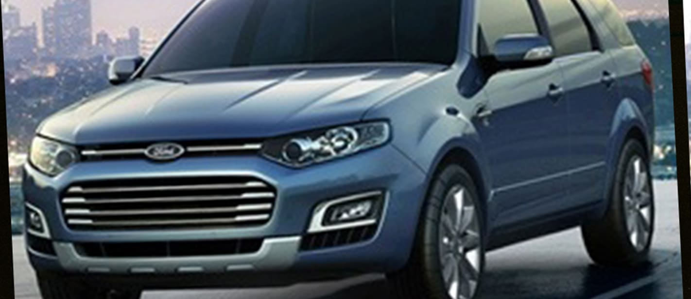 New Ford Territory leaked
